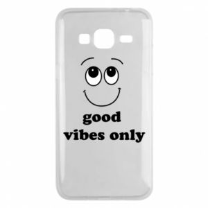 Samsung J3 2016 Case Good  vibes only