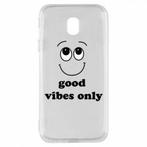 Samsung J3 2017 Case Good  vibes only