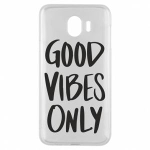 Etui na Samsung J4 GOOD VIBES ONLY