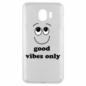 Samsung J4 Case Good  vibes only