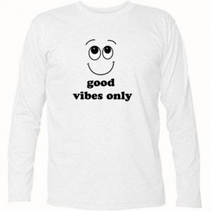 Koszulka z długim rękawem Good  vibes only
