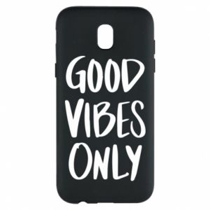Etui na Samsung J5 2017 GOOD VIBES ONLY