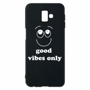 Samsung J6 Plus 2018 Case Good  vibes only