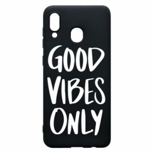 Etui na Samsung A20 GOOD VIBES ONLY