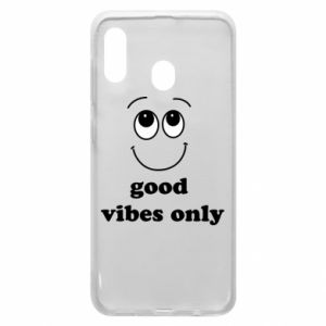 Samsung A20 Case Good  vibes only