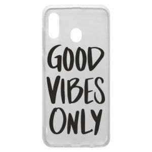 Samsung A30 Case GOOD VIBES ONLY