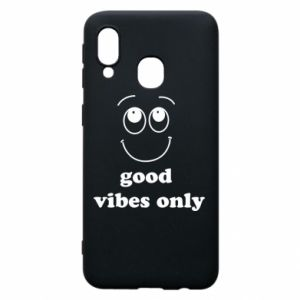 Etui na Samsung A40 Good  vibes only