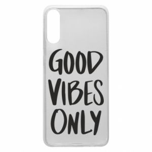 Etui na Samsung A70 GOOD VIBES ONLY