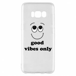 Etui na Samsung S8 Good  vibes only