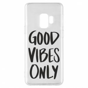 Etui na Samsung S9 GOOD VIBES ONLY
