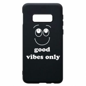 Samsung S10e Case Good  vibes only
