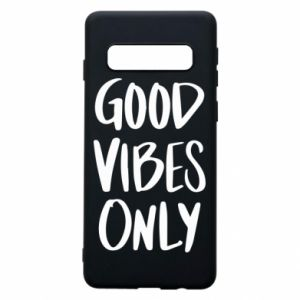 Etui na Samsung S10 GOOD VIBES ONLY