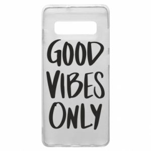 Etui na Samsung S10+ GOOD VIBES ONLY