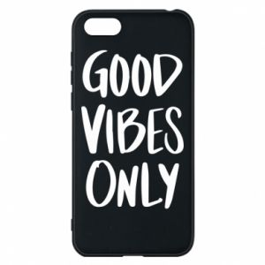 Etui na Huawei Y5 2018 GOOD VIBES ONLY