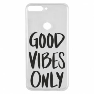 Huawei Y7 Prime 2018 Case GOOD VIBES ONLY