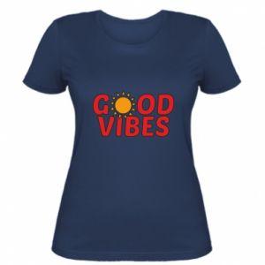 Women's t-shirt Good vibes sun