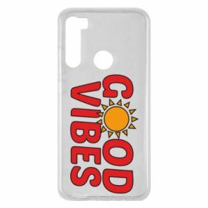 Xiaomi Redmi Note 8 Case Good vibes sun