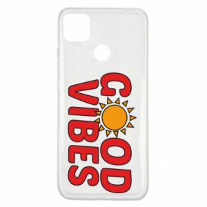 Xiaomi Redmi 9c Case Good vibes sun