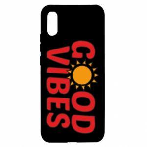 Xiaomi Redmi 9a Case Good vibes sun