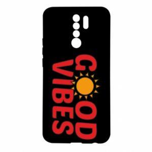 Xiaomi Redmi 9 Case Good vibes sun