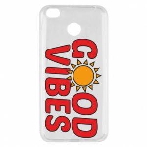 Xiaomi Redmi 4X Case Good vibes sun