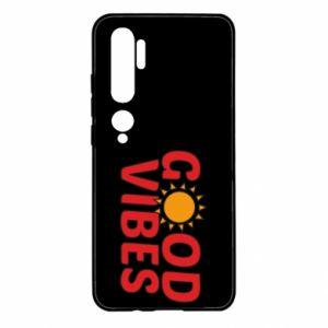 Xiaomi Mi Note 10 Case Good vibes sun