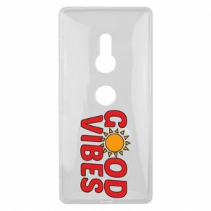 Sony Xperia XZ2 Case Good vibes sun