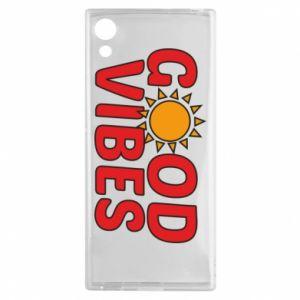 Sony Xperia XA1 Case Good vibes sun