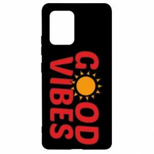 Samsung S10 Lite Case Good vibes sun
