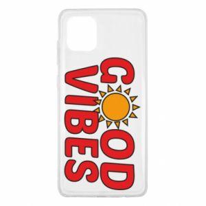 Samsung Note 10 Lite Case Good vibes sun