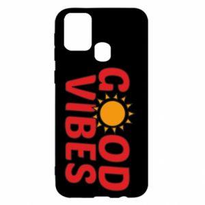 Samsung M31 Case Good vibes sun