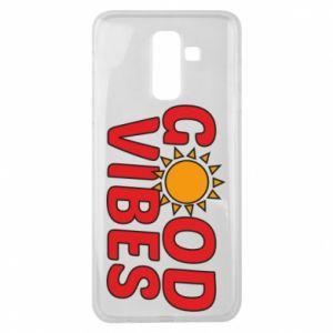 Samsung J8 2018 Case Good vibes sun