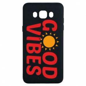 Samsung J7 2016 Case Good vibes sun