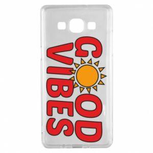 Samsung A5 2015 Case Good vibes sun