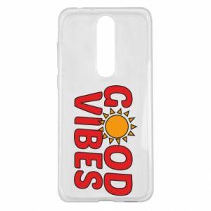 Nokia 5.1 Plus Case Good vibes sun