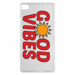 Huawei P8 Case Good vibes sun