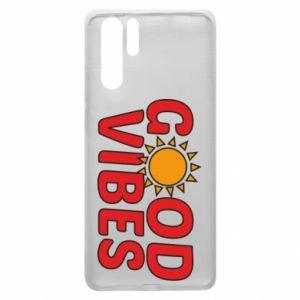 Huawei P30 Pro Case Good vibes sun