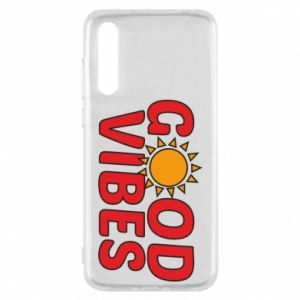 Huawei P20 Pro Case Good vibes sun