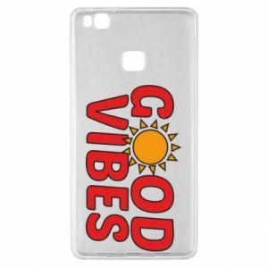 Huawei P9 Lite Case Good vibes sun