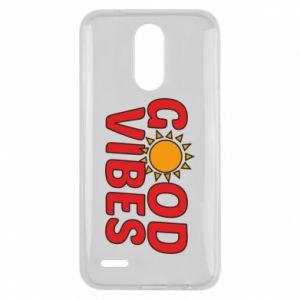 Lg K10 2017 Case Good vibes sun