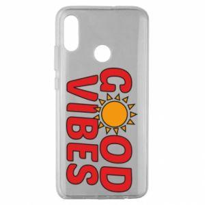 Huawei Honor 10 Lite Case Good vibes sun