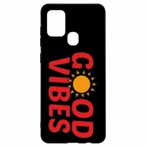 Samsung A21s Case Good vibes sun