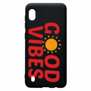 Samsung A10 Case Good vibes sun