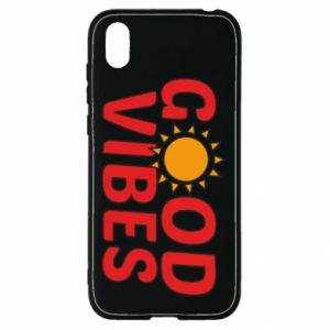 Huawei Y5 2019 Case Good vibes sun