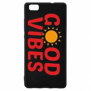 Huawei P8 Lite Case Good vibes sun