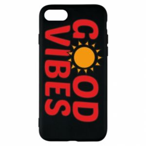 iPhone SE 2020 Case Good vibes sun