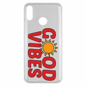 Huawei Y9 2019 Case Good vibes sun