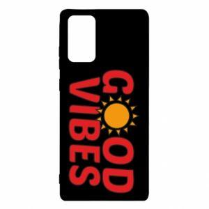 Samsung Note 20 Case Good vibes sun