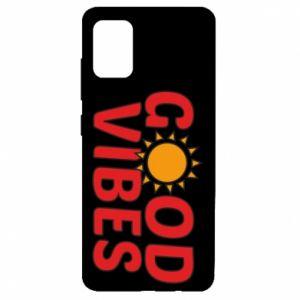 Samsung A51 Case Good vibes sun