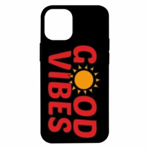 iPhone 12 Mini Case Good vibes sun